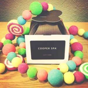 Spoil those closest to you this holiday! A Cooper Spa gift card makes a great gift.