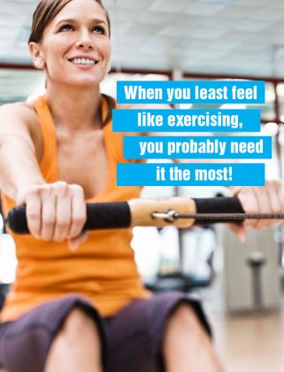 Health Fitting in Exercise Quote