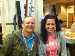 IHRSA_Amy and Roger