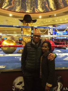 Derrick and Tish Boxing Ring