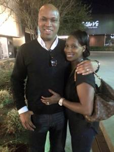 Derrick and Tish Date Night