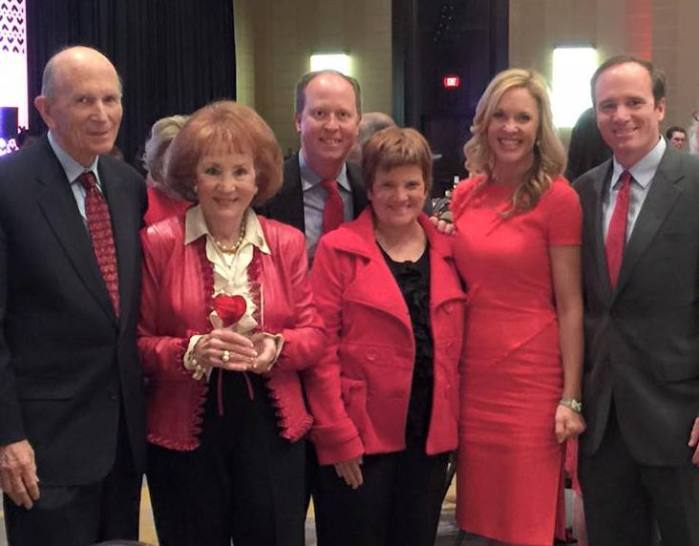 Go Red Luncheon Family Crop